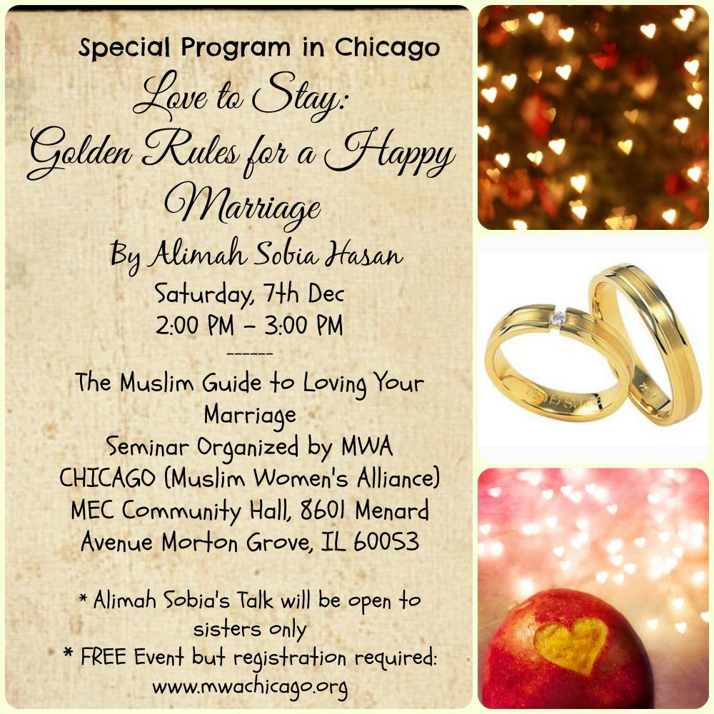 7th Dec \'13: Chicago- Talk by Alimah Sobia Hasan – Maryam Institute ...